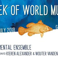 Stage Week of World Music Instrumental Ensemble