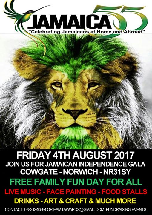 Jamaica Independence DAY At The Blueberry Music House Norwich - Jamaica independence day