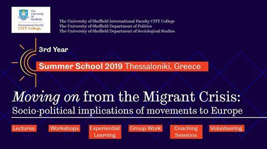 Summer School 2019 - Moving on from the Migrant Crisis