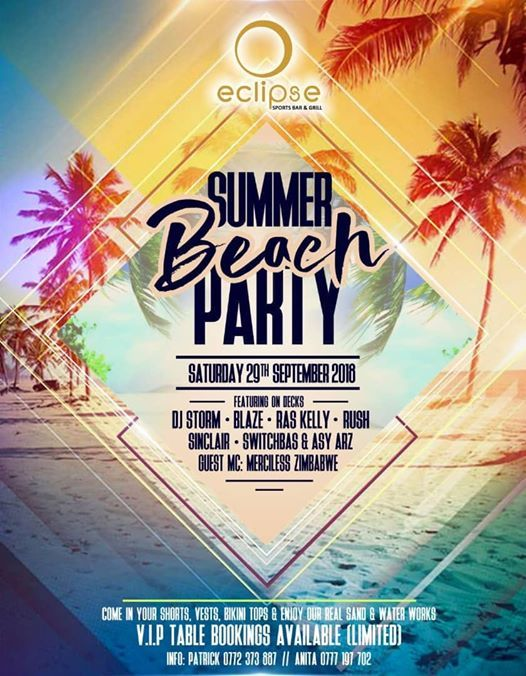 Eclipse Summer Beach Party 2018