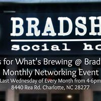 Whats Brewing at Bradshaws Monthly Networking Event