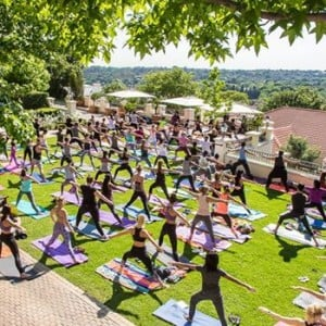 Yoga and Breakfast at Four Seasons Hotel - The Westcliff