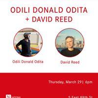 Odili Donald Odita  David Reed In Conversation