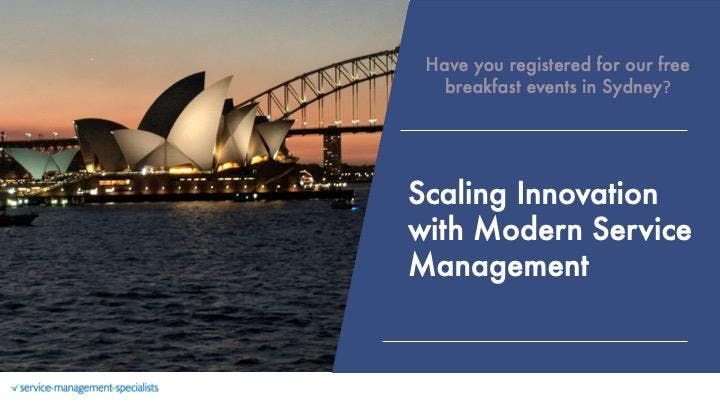 Scaling Innovation with Modern Service Management