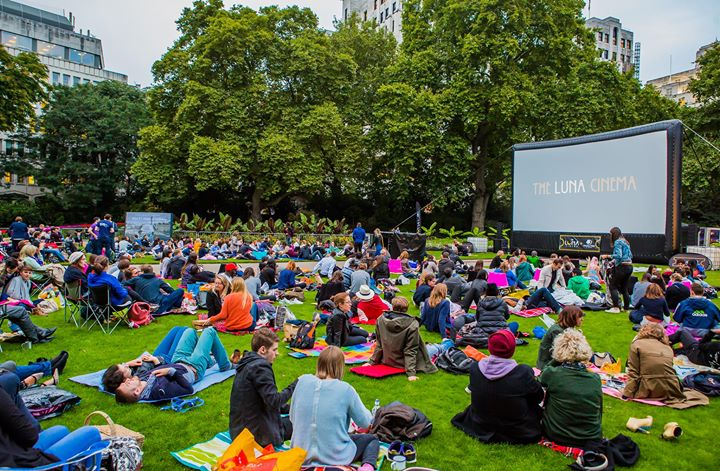 The Luna Cinema & Victoria Embankment Gardens: The Breakfast Club ...