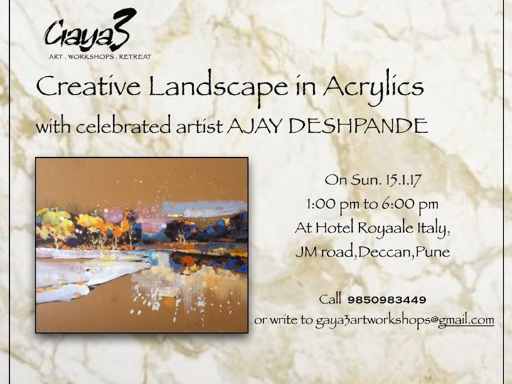 Creative Landscape with Ajay Deshpande