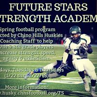 Huskies Future Stars Strength Academy for 7th &amp 8th Graders