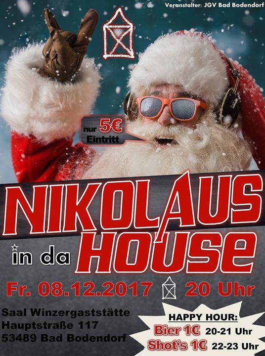 Nikolaus in da House 2017