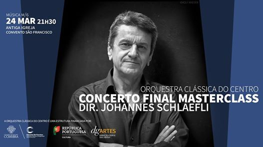 Concerto Final Masterclass  Direo Johannes Schlaefli