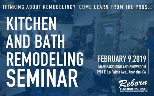 Kitchen and Bath Remodeling Seminar