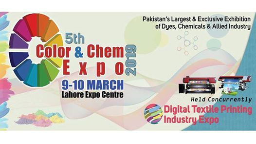 5th Color & Chem and Digital Textile Printing Industry Expo 2019 at