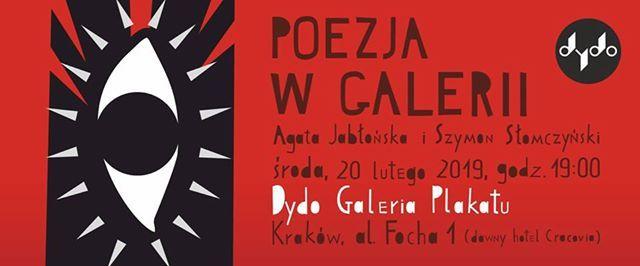 Poezja w galerii  Agata Jaboska i Szymon Somczyski