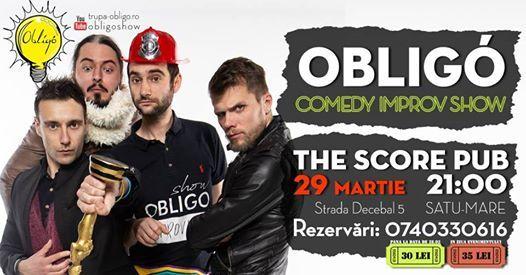 Comedy Improv Show  Trupa Obligo SatuMare
