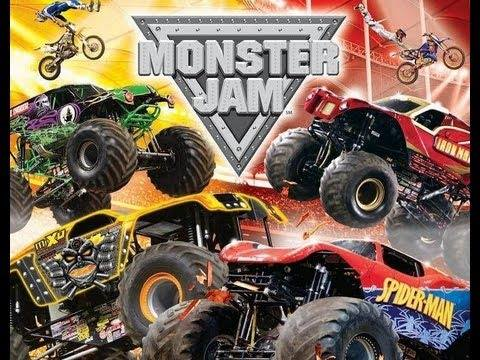 Monster Jam with Aleph