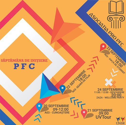 Sptmna de iniiere PFC - Asociaia Pro PFC