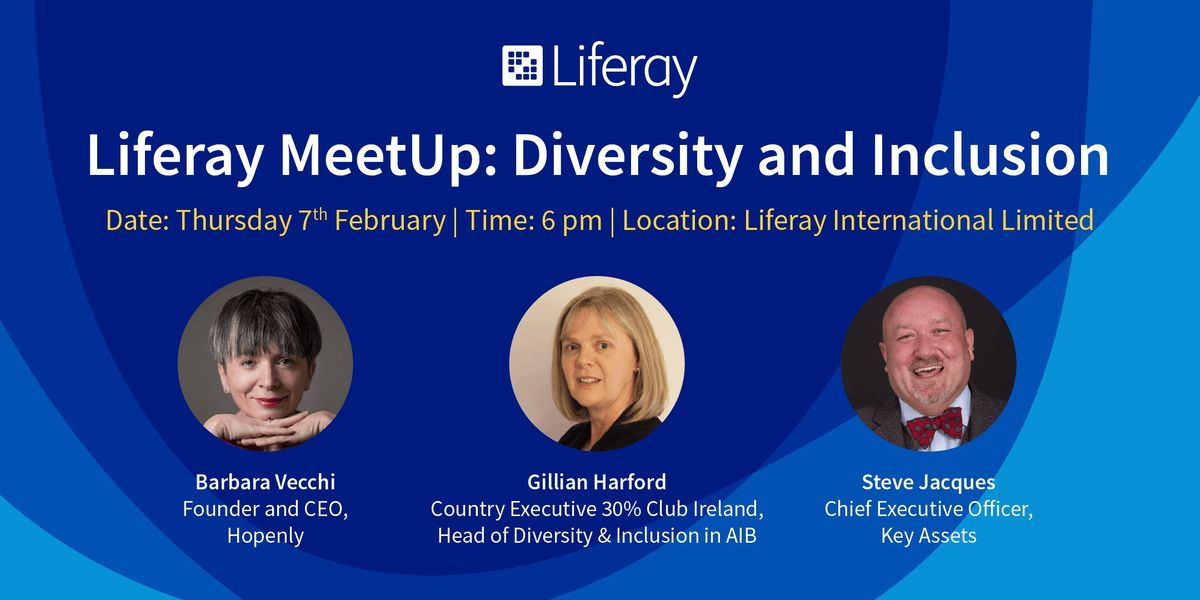 Liferay MeetUp Diversity and Inclusion