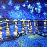 Van Goghs Starry Night Over the Rhone