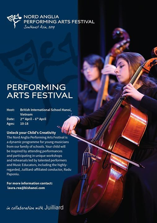 Nord Anglia Performing Arts Festival Southeast Asia 2019