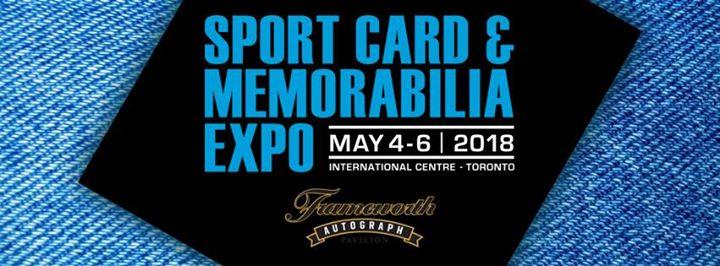 sport card memorabilia expo at the international centre mississauga