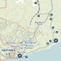 SwimWalk East Sussex - Three Oaks to Hastings
