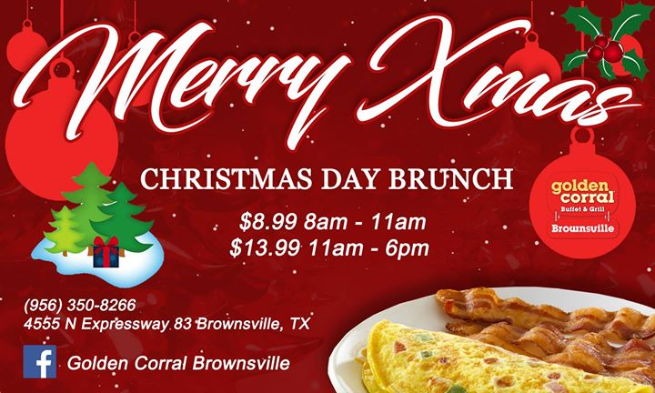 christmas day brunch at golden corral in brownsville - Golden Corral Christmas