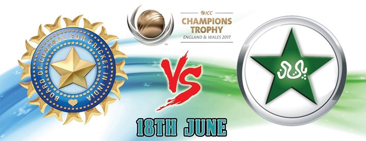 Champions Trophy Final - India VS Pakistan