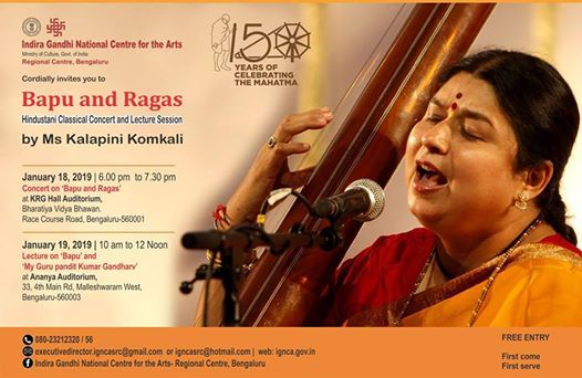 Bapu and RagasHindustani Classical Concert and Lecture Session