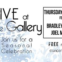 Live at the Gallery  Seasonal Celebration