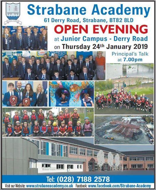 Strabane Academy Open Night
