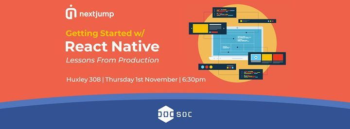 Next Jump - Getting Started With React Native at Huxley 308
