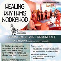 Healing Rhythms Workshop with MJ Vermette (Ladysmith)