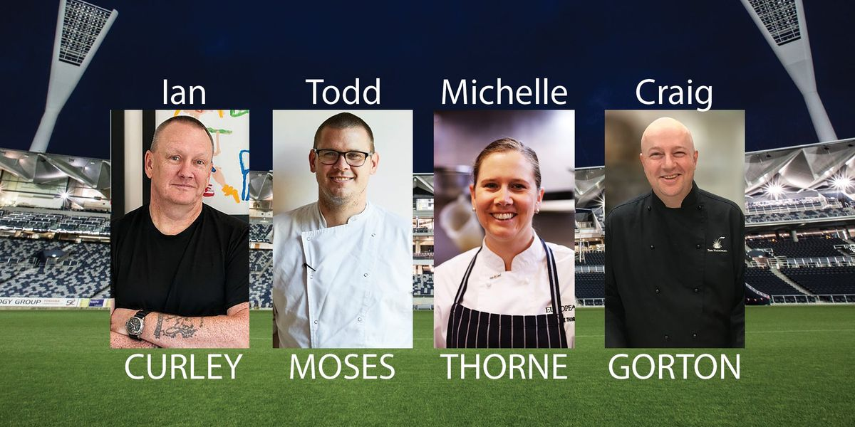 Celebrity Chef Charity Dinner for Challenge during the 2019 ISPS Handa Vic Open