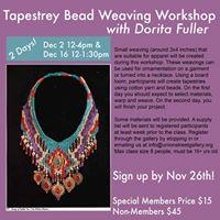 Tapestry Bead Weaving Workshop