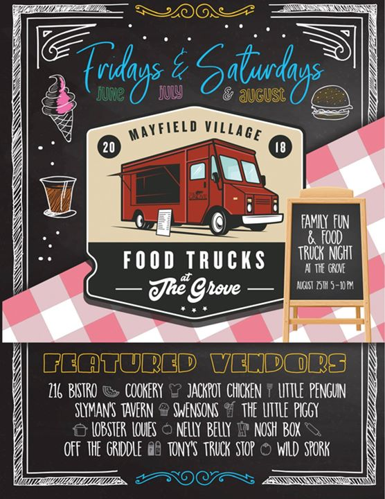 Family Fun And Food Trucks At The Grove Mayfield