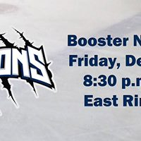 Lions Booster Night