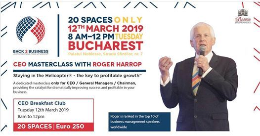 CEO Masterclass with Roger Harrop