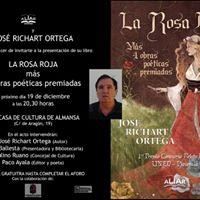 Presentacin de La Rosa Roja en Almansa