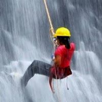 TMI Waterfall Rappelling at Diksal Waterfall On 24th Sep17.