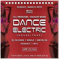 EMX HouseTrap Mixer at Tokyo Beat (DTLA)