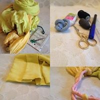 Fabric recycling - A workshop for Seniors