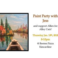 Paint Party with Jess - SOLD OUT