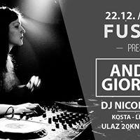 FUSION presents Andrea Giordani