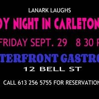 Comedy night in Carleton Place