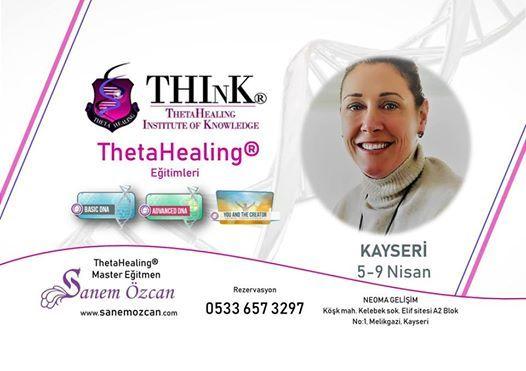 Sanem zcan ile ThetaHealing Eitimleri- Kayseri
