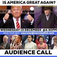 A Year of Trump Is America Great Again TV recording