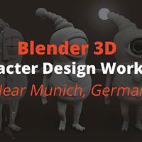 Workshop Blender 3D-Charakter-Design nahe Mnchen