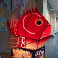 Workshop Taiguruma - Fish Cart Lantern