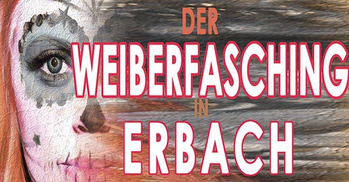 Weiberfasching 2018 in Erbach - Firma Holunder und RadioSolid