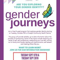 Gender Journeys - Information Session