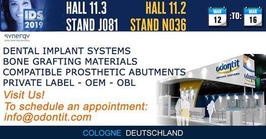 IDS 2019 - Hall 11.3 Stand J081 - Hall 11.2 Stand N036
